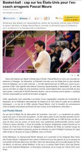 La Voix du Nord, 20/10/2013