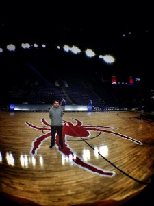 Me at the Robins Center