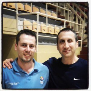 David Blatt and me