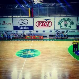 Sabonis basketball school in Kaunas