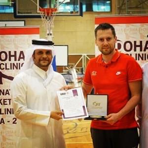 Closing ceremony with H.E. Sheikh Al-Thani